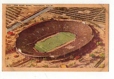 The Rose Bowl Pasadena California Vintage Postcard Aug16