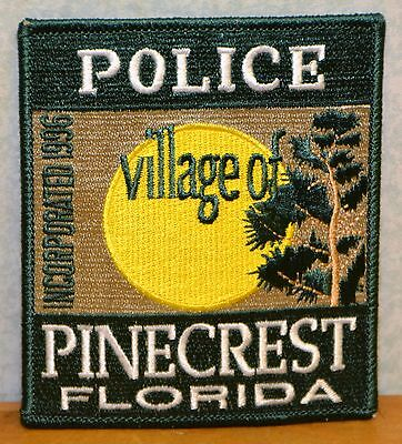 Pinecrest Florida Police Patch