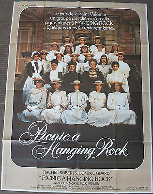 PICNIC AT HANGING ROCK (1975) Original Large French Movie Poster Peter Weir