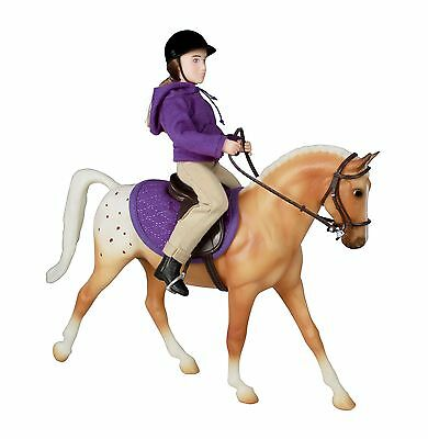 Breyer English Horse and Rider [Hand-painted / Realistic junior] [61069] XTS