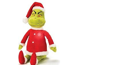 The Grinch Light Up Singing Plush Christmas Gift