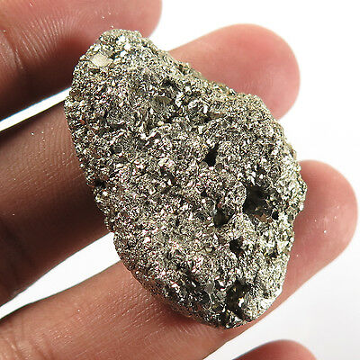 Royal Natural PYRITE DRUZY 40x26 mm Fancy Large Good Quality Gemstone 125.70 Cts
