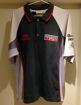 Toyota Trd Short Sleeve Shirt / Top Collar Vgc