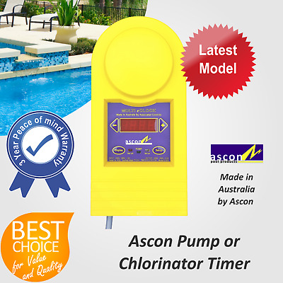 Solar Pool Heating System Automatic Pump Timer Controller by Ascon