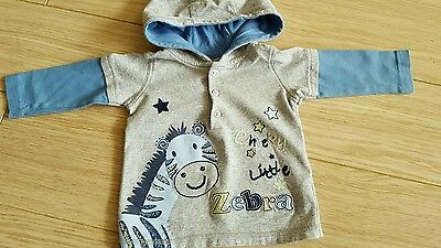 boys 6-9 month hoodie from matalan