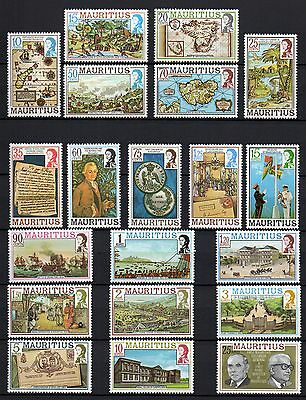 The History of Mauritius on Stamps. 1978 Postfrischer Satz.