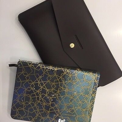 STARBUCKS Planner 2017 INDONESIA ONLY LIMITED with leather pouch case