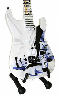 STORMTROOPER miniature guitar with stand. star wars