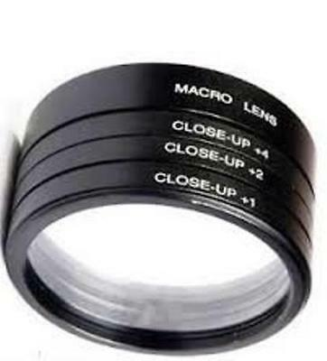 58mm close up lens filter kit +1 +2 +4 +10 macro for CANON EOS 1000D 1100D 600D