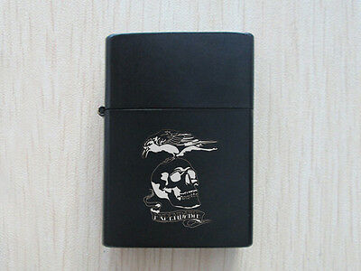 Black The Expendables Chrome Finished Lighter New