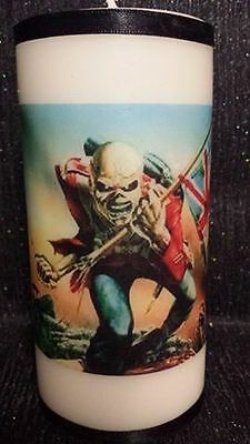 iron maiden candle