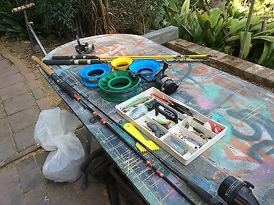 Fishing Gear, Rods, Reels, Tackle.