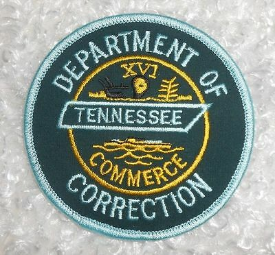 "Tennessee Dept of Correction Patch - 3 1/2"" x 3 1/2"""