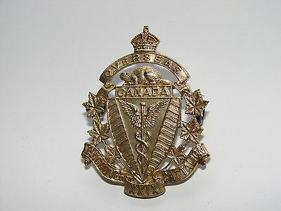 Canada WW1 CEF Cap Badge OFFICER'S 29th Battalion The G & S CO.