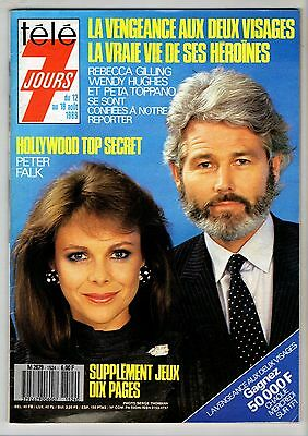 ►Tele 7 Jours 1524/1989 - Rebecca Gilling - Peter Falk - W. Hugues - Complet/tbe