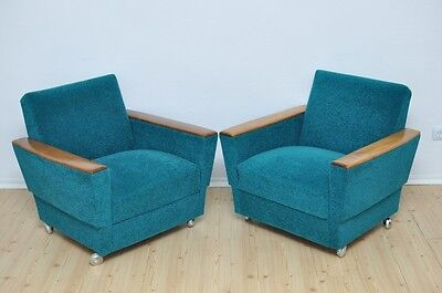 Pair of Vintage Loungers Armchairs MODERN Design Modern LOFT Mid Century