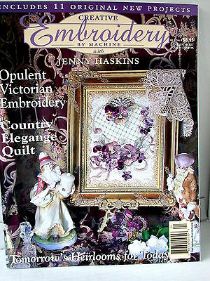CREATIVE EMBROIDERY BY MACHINE  projects patterns tips ideas  VOL 1 NO 4