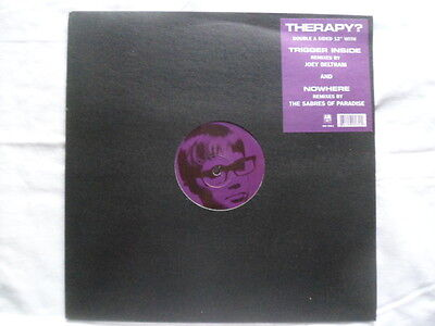 """Therapy? -Nowhere /trigger Inside Limited Edition 12"""" Vinyl Record"""