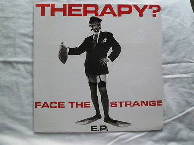 "Therapy? -Face The Strange E.p 12"" Vinyl Record"