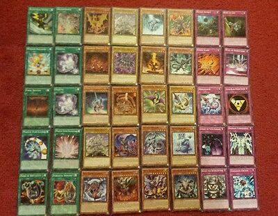 Yu-Gi-Oh Dragon and Wyrm Deck - 40 cards complete BONUS 5 cards