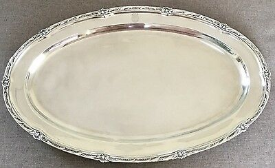 Antique Solid Silver Tray C1890  Friedländer Germany 2.2kgs