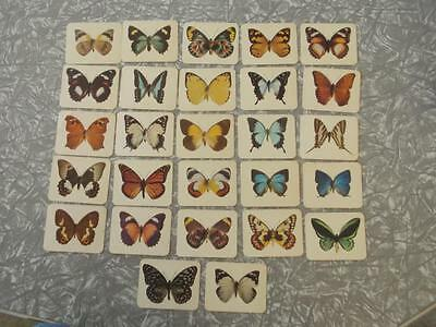 28''cereal  Swap/trading Cards ''nabisco'' Butterflies Of Australia