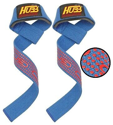 Body Building Strap Wraps Gym Fitness Pro-Grip Weight Lifting Bar Wrist Straps