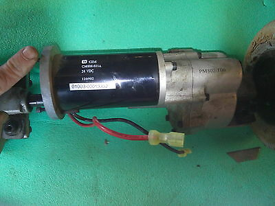 Pride Go Go electric motor and axle