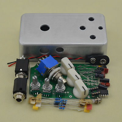 Build your own Distortion Pedal DIY box Full Kits DIY Distortion PEDAL Box !!!
