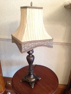 Solid Brass Antique Style Lamp