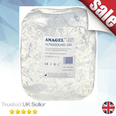 Anagel Ultrasound Gel Bottle 5L - Clear - Suitable For All fetal Doppler Devices