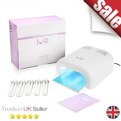 MelodySusie® 36W UV Nail Dryer - UV Lamp Light for Curing UV Gel Nail Polish wi