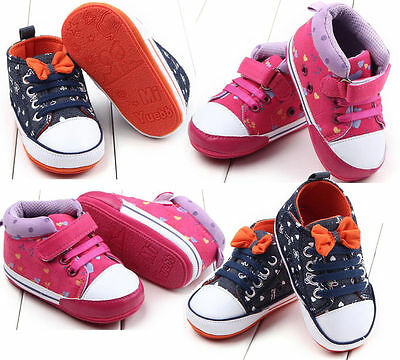 New Lace Up Low Top Toddler Baby Boy Girls Canvas Shoes Walking Comfort 2 Colors