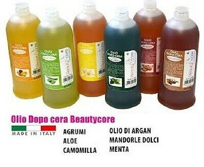 OLIO DOPO CERA all Argan BEAUTYCore post depilazione flacone 500ml- 1 pz