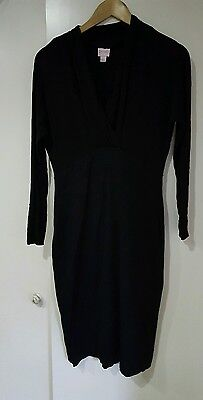 Black maternity/nursing dress size S