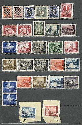 Croatia used old collection  Great Value