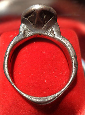 ONE OF A KIND!!! Arabic/Islamic/Persian Antique seal ring alloy Electron