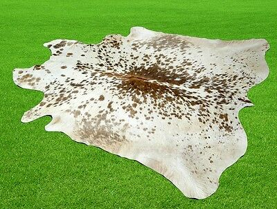 """New Cowhide Rugs Area Cow Skin Leather 19.74 sq.feet (58""""x49"""") Cow hide MB-8925"""