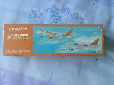 EasyJet Airbus A320 Boeing 737 Model Aircraft Airplane 20th Anniversary New