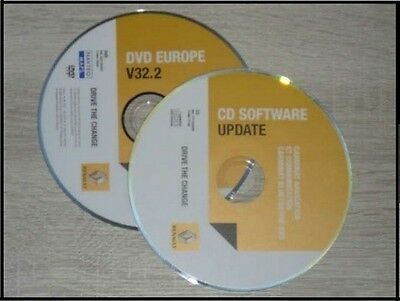 Carminat DVD Europe Europa Bluetooth V32.2 Renault Vel Satis Espace Bluetooth