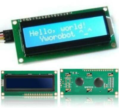 1Pcs IIC / I2C 1602 Blue Backlight LCD Display Module For Arduino Durable Use
