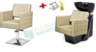 !PROMOTION! Professional Hairdressing Furniture Backwash and Chair Cubo!