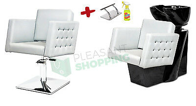 !PROMOTION! Professional Hairdressing Furniture Backwash and Chair Crystal!