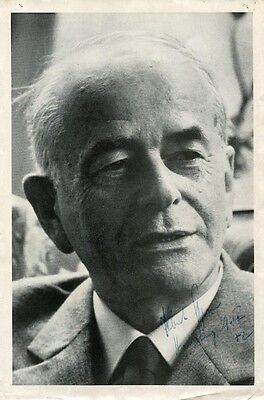 Albert Speer ARCHITECT autograph, signed vintage photo