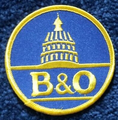 Baltimore and Ohio Embroidered Sew on Badge