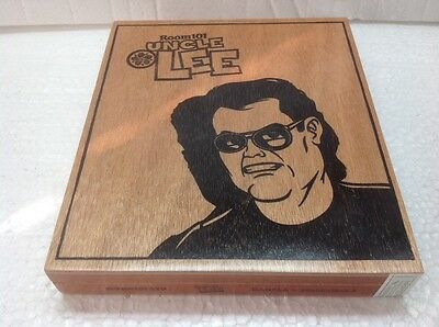 Cigar Box Rolling Tray Room 101 Uncle Lee Art Craft Storage Case Project Wood