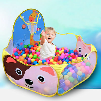 Kid Child Baby Indoor Outdoor Play Tent Toy  Ball Pit Pool Portable Game Toy Hot