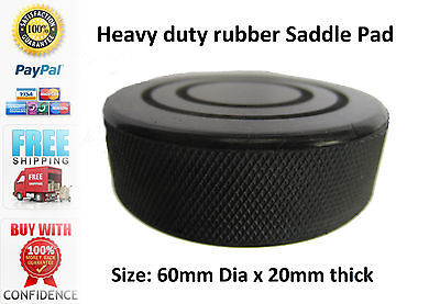 Trolley Jack / Axle Stand Rubber Pad Classic Car Saddle Pad