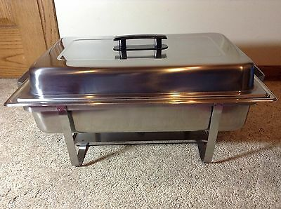 8 Quart Chafing Dish - Keeps Food Warm - Bakers And Chefs
