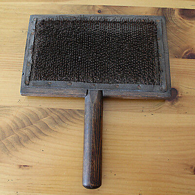 Antique Wool Carder by Robert McIntyre of Glasgow